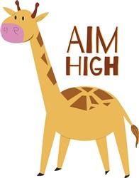 Aim High print art