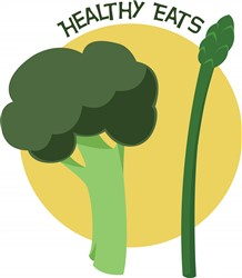 Healthy Eats print art
