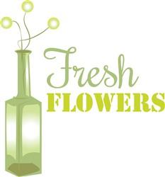 Fresh Flowers print art