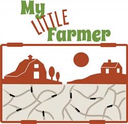 My Little Farmer print art