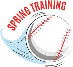 Spring Training print art