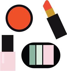 Cosmetics print art