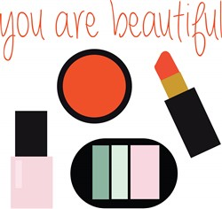 You Are Beautiful print art