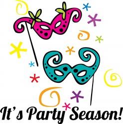 Its Party Season print art