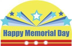 Happy Memorial Day print art