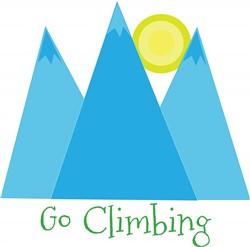 Go Climbing print art