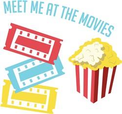 Meet At Movies print art