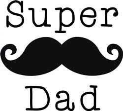 Super Dad print art