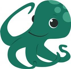 Octopus print art