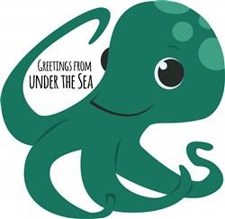 Under The Sea print art
