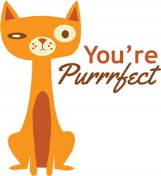 Youre Purrfect print art