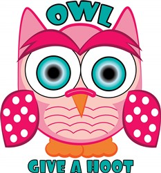 Give A Hoot print art