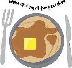 Smell The Pancakes print art