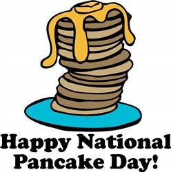 Pancake Day print art