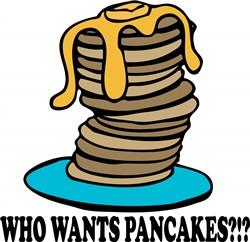 Who Wants Pancakes print art