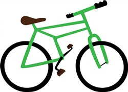 Bicycle print art