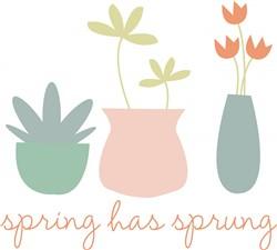 Spring Has Sprung print art
