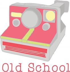 Old School print art