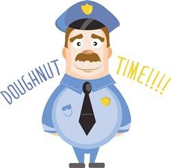 Doughnut Time print art