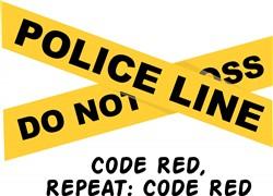 Code Red print art