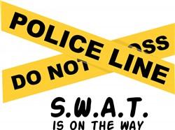 SWAT On The Way print art