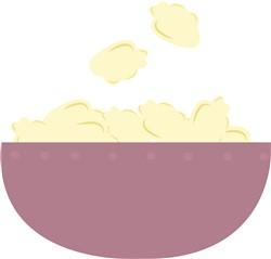 Popcorn Bowl print art