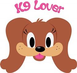 K9 Lover print art