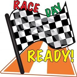 Race Day print art