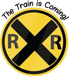 Train Is Coming print art