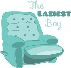 Laziest Boy print art