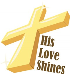 His Love Shines print art