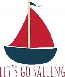 Go Sailing print art
