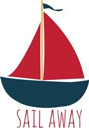 Sail Away print art