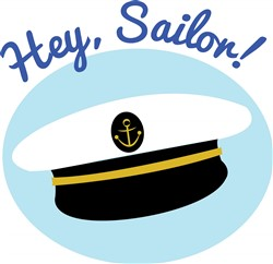 Hey Sailor print art