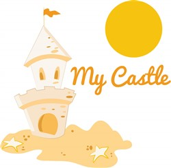 My Castle print art
