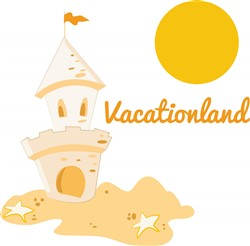 Vacationland print art