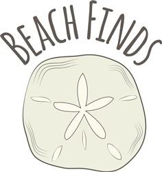 Beach Finds print art