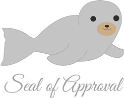 Seal Of Approval print art