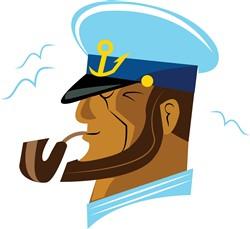 Boat Captain print art