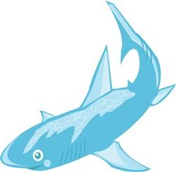 Shark print art