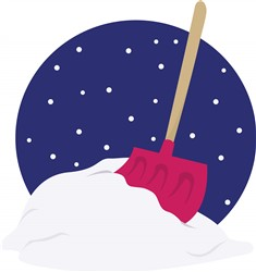 Snow Shovel print art
