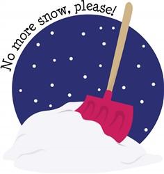 No More Snow print art