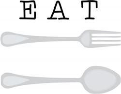Eat print art