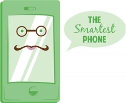 Smartest Phone print art