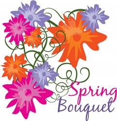 Spring Bouquet print art