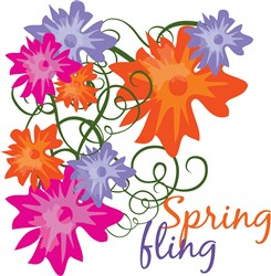 Spring Fling print art