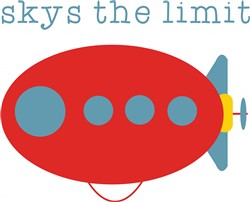 Skys The Limit print art