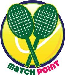 Match Point print art