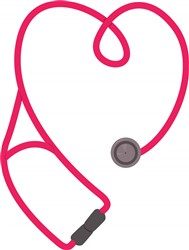 Stethoscope print art