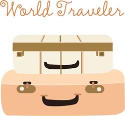 World Traveler print art